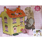 Fantasy Fields by Teamson Magic Garden Dolls House Incl Furniture