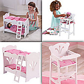 Kidkraft Lil Doll Set - Bunk bed and Highchair