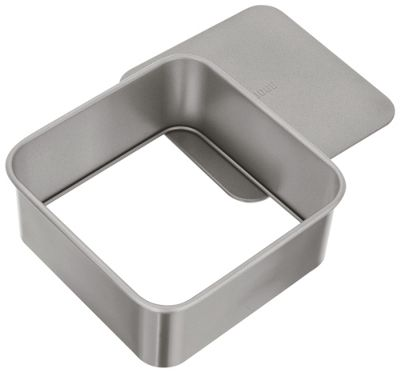 Judge Bakeware Heavy Duty Loose Base Non Stick Square Cake Tin 20cm