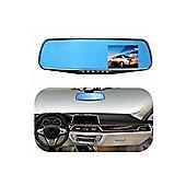 2.8 Inch 1080P HD Car DVR Rear View Mirror Dash Cam Camera Video Recorder Night Vision