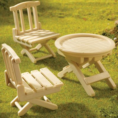 Sylvanian Families Folding Table and Chairs