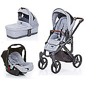 ABC Design Mamba Plus 3 in 1 Travel System - Graphite
