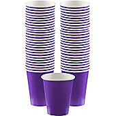 Purple Coffee Cups - 340ml Paper Cups - 40 Pack