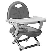 Chicco Pocket Snack Feeding Booster Seat, Silver
