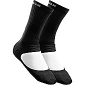 Metasox Elite Crew Sock - Black