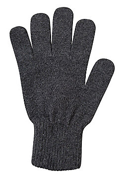 Mountain Warehouse Grace Womens Knitted Gloves - Grey
