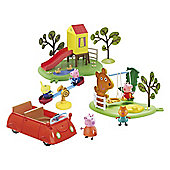 Peppa Pig Day Trip to the Park Playset