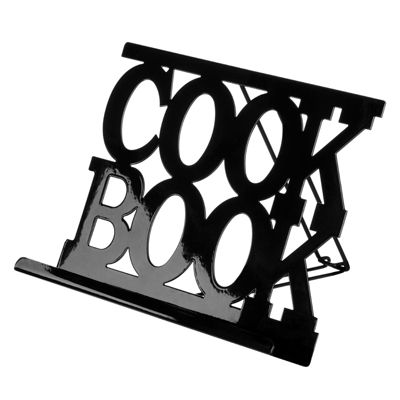 Premier Housewares Black Enamel Cook Book Stand