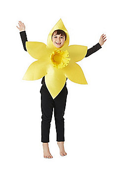 F&F Welsh Daffodil St. David's Day Costume - Yellow