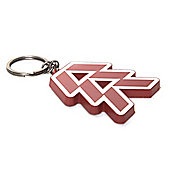 Destiny Heavy Metal Hunter Keychain
