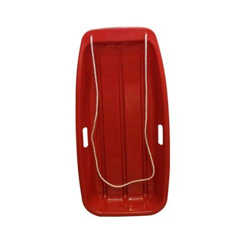 Snow Speeder Plastic Sled - Red