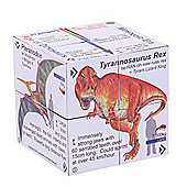 ZooBooKoo Factual Dinosaur - T-Rex and Friends Cube Book