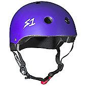S1 Helmet Company Mini Lifer Helmet - Purple Matt (Large)