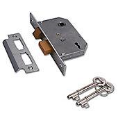 YALE PM246 2 Lever Sashlock - 64mm CP KD Visi