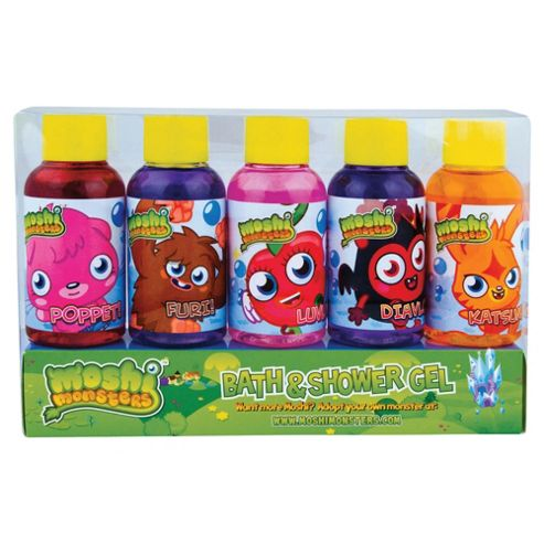 Moshi Monster 5 Day Shower Gel set