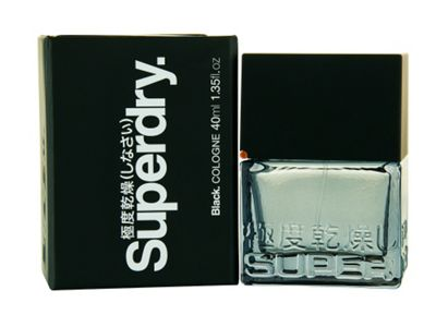 Superdry Black 40ml cologne