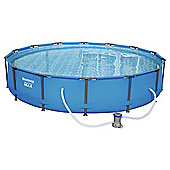 "Bestway 14ft x 33"" - Steel Pro Frame Pool Set"