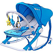 Caretero Aqua Baby Bouncer (Blue)