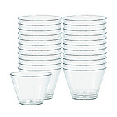 Clear Plastic Tumbler Glasses - 142ml - 88 Pack