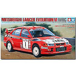 Mitsubishi Lancer Evolution VI WRC - 1:24 Cars - Tamiya