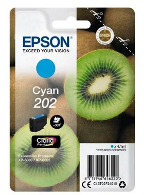 Epson 202 4.1ml 300pages Cyan ink cartridge 300 pages
