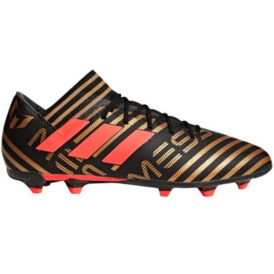 adidas Nemeziz Messi 17.3 Firm Ground Football Boot Black Skystalker - UK 8