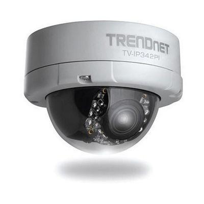 TRENDnet TV-IP342PI Outdoor 2MP Full HD Vari-Focal PoE Day/Night Dome Network Camera