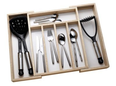 Apollo Houseware Extending Cutlery Tray