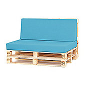 Water Resistant Pallet Large Back Cushion - Turquoise