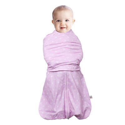 Clevamama 3-6 Months 3 in 1 Pink Baby Infant Swaddle Sleeping Bag