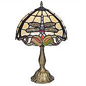 Kliving Medium Romiley Tiffany Table Lamp