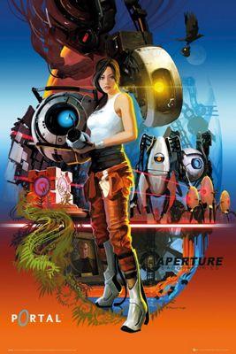 Portal Aperture Laboratories Poster 61 x 91.5cm