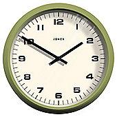 Jones & Co Monkey Wall Clock Green