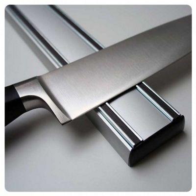 Bisbell Basics Aluminium Magnetic Knife Storage Rack 36cm