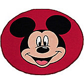 Mickey Mouse, Head Shaped Rug