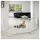 Babydan Configure Safety Stair Gate Large, White