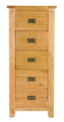 Elements Melbourne Bedroom 5 Drawer Tall Chest