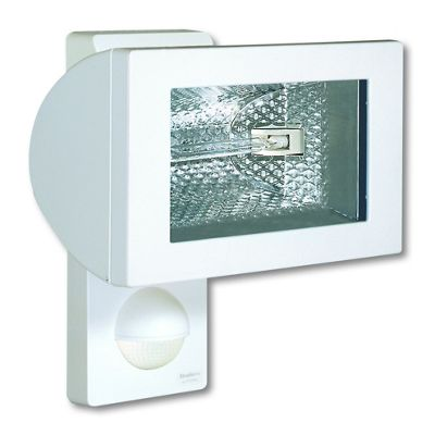 Steinel HS502 White Wall mounted 500w halogen sensor light