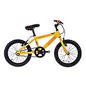 "Raleigh Zero 16"" Wheel Single Speed Kids Bike Yellow"