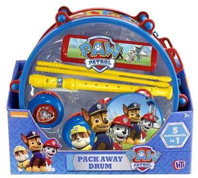 Paw Patrol Pack Away Drum