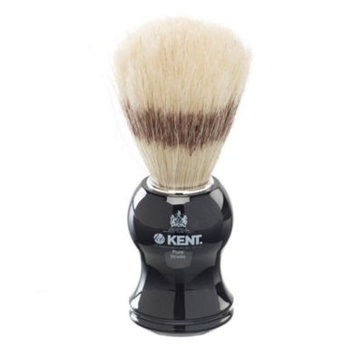 Kent Small Bristle Shaving Brush - VS60 Black