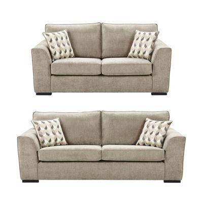 Boston Bundle Medium Large Sofa Set From Our Fabric Sofas