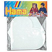 Hama Pegboards - Hex & Heart
