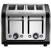 Dualit 46505 4 Slot Architect Toaster - Brushed Stainless Steel