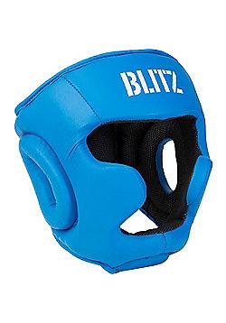 Blitz - Club Full Contact Head Guard - Blue