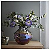 Fox & Ivy Pink Lustre Finish Vase