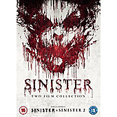 SINISTER DOUBLE PACK DVD 3disc