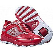 Heelys Swift Red/White Kids Heely Shoe - Red
