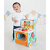 ELC Wooden Activity Kitchen Walker