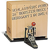 Schlagwerk BC 460 Booster Boxx 2inOne Cajon And BP 40 Bass Plate BC Com